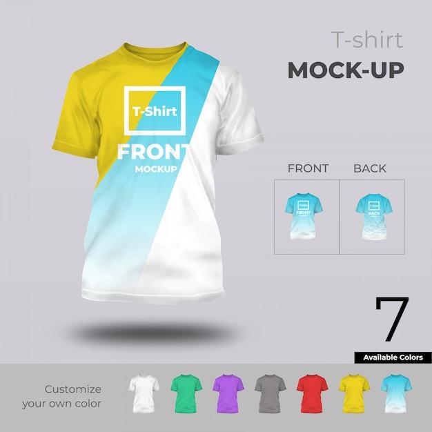 Tshirt-modell Premium PSD