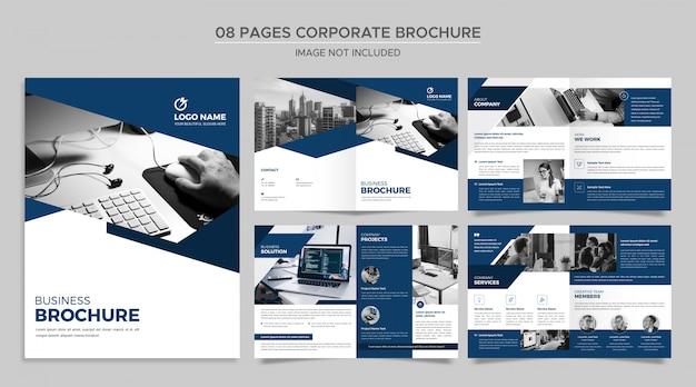 Unternehmensbroschüre vorlage Premium PSD