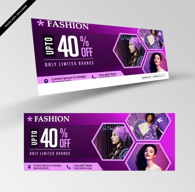 Verkauf rabatt banner Premium PSD