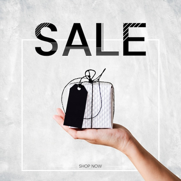 Verkaufsförderungsanzeige plakat design-vorlage Premium PSD
