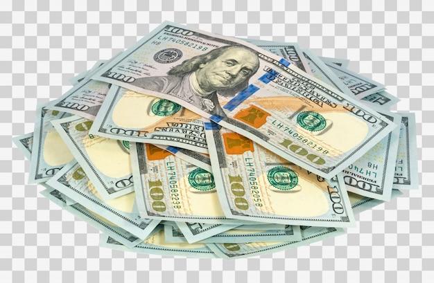 Viel geld isoliert Premium PSD