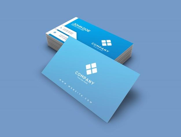Visitenkarte-mock-up Premium PSD