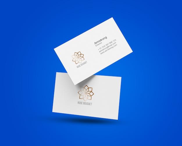 Visitenkarte-mock-ups Premium PSD