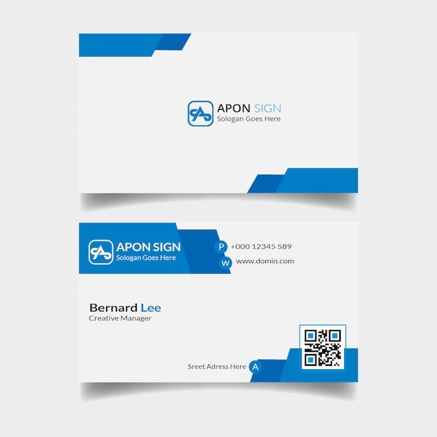 Visitenkarte persönlich Premium PSD