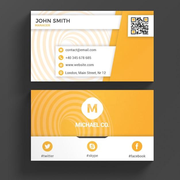 Visitenkarte Vorlage Download Der Premium Psd