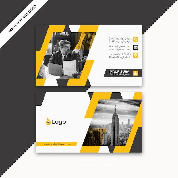 Visitenkarte vorlage Premium PSD
