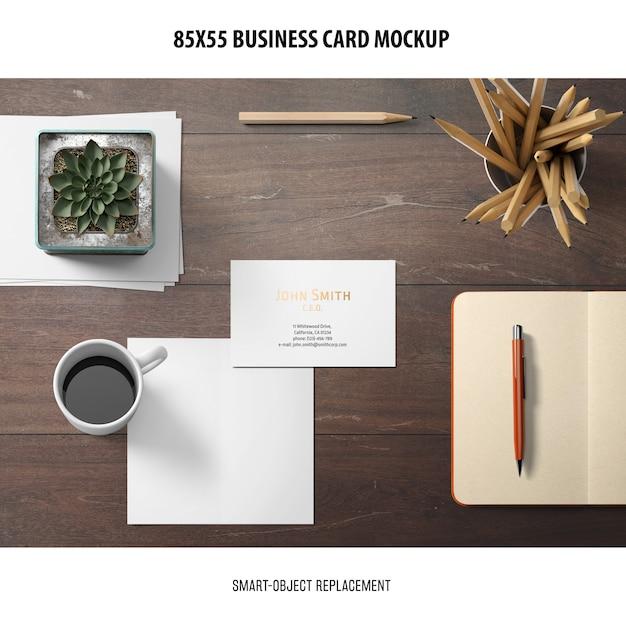 Visitenkartenmodell Kostenlosen PSD