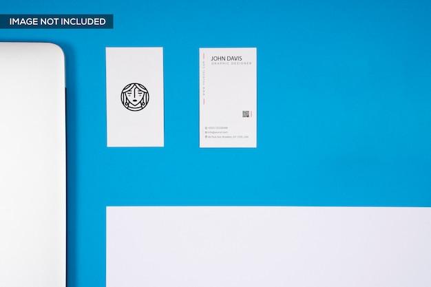Visitenkartenmodell Premium PSD
