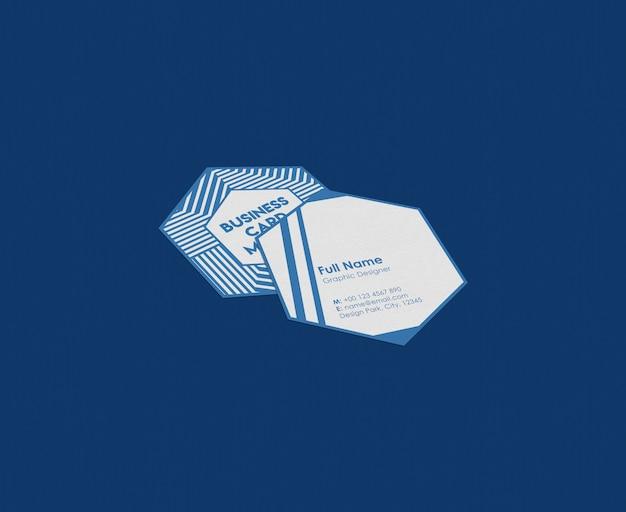 Visitenkartenmodell. Premium PSD