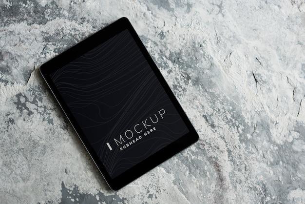 Vorlage für wireless-tablet-bildschirmmodelle Kostenlosen PSD