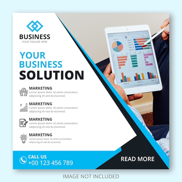 Web-marketing-business-banner-vorlage Premium PSD