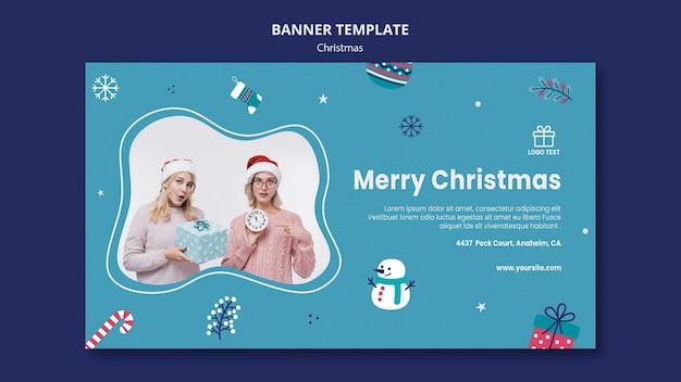 Weihnachtsverkauf banner vorlage Kostenlosen PSD