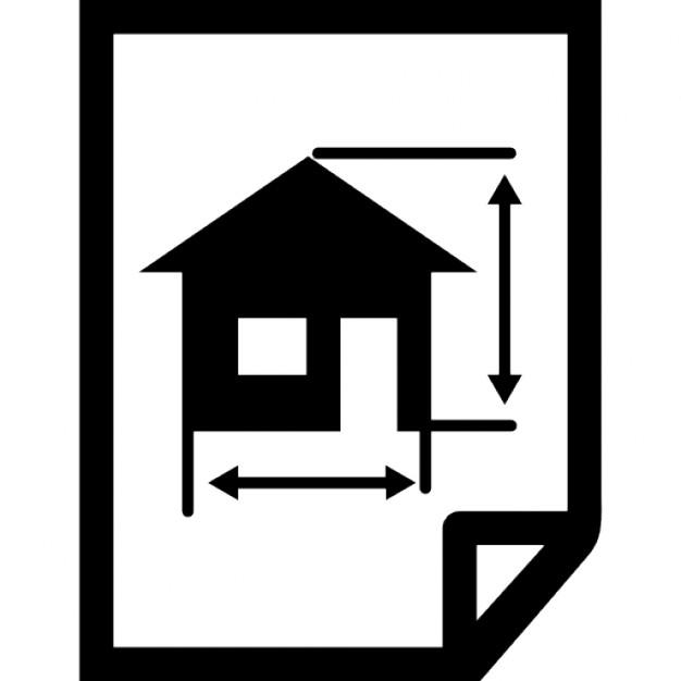 Architettura sorteggio di una casa su una carta for Architettura di casa online