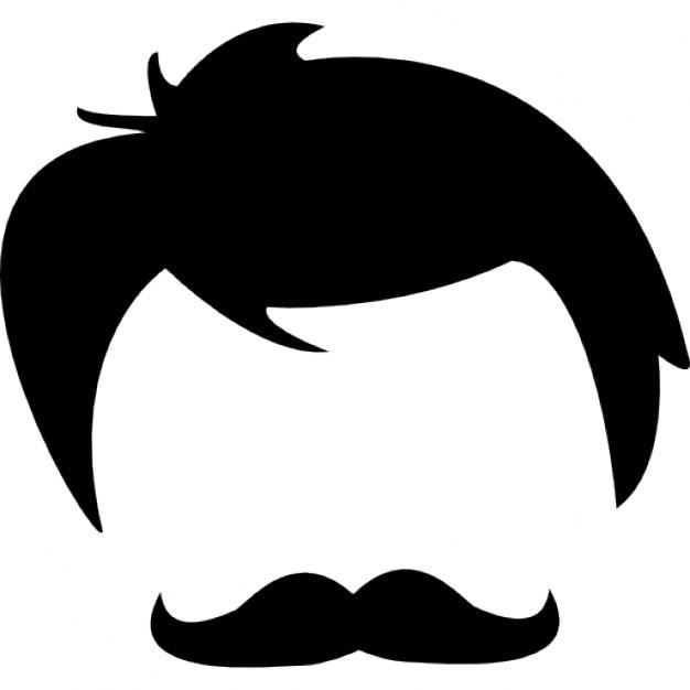 Capelli maschile di forme della testa e del viso