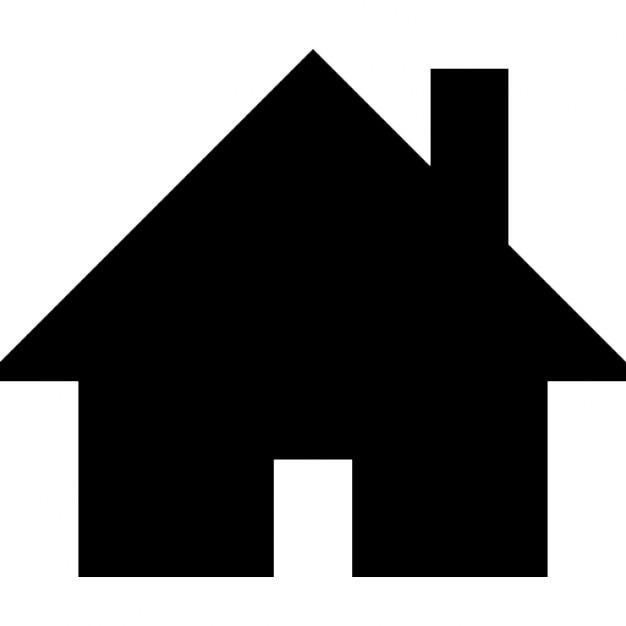 Casa silhouette nera scaricare icone gratis for Sito web dove puoi costruire la tua casa