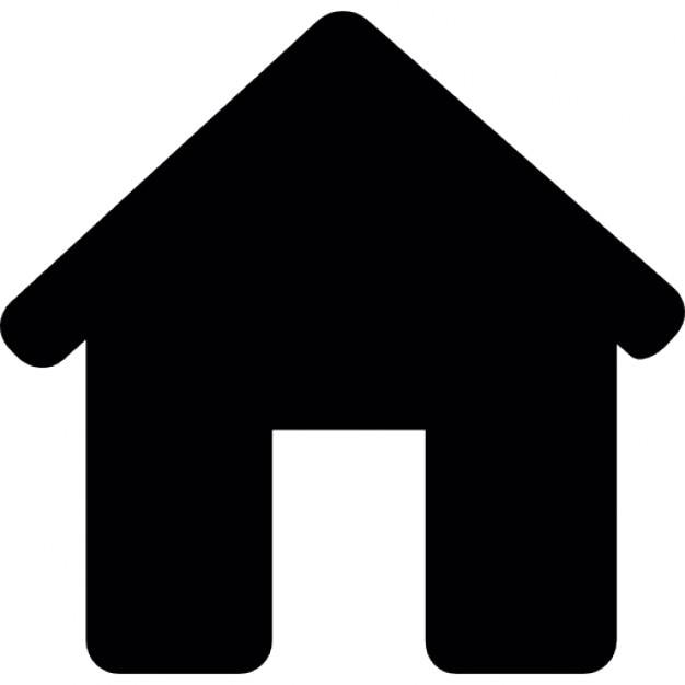 Casa silhouette nere senza porta scaricare icone gratis for Sito web dove puoi costruire la tua casa