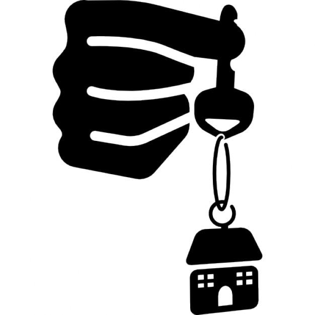 Chiavi di casa in mano scaricare icone gratis - Chiavi in mano casa ...
