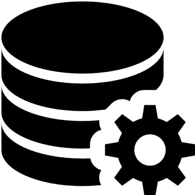 Configurazione del database Icone Gratuite