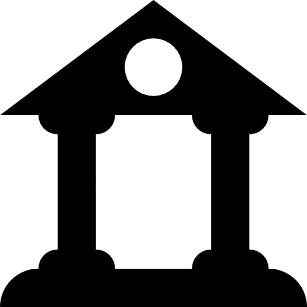 Costruzione di antico stile di design con due colonne e il for Software di layout di costruzione gratuito
