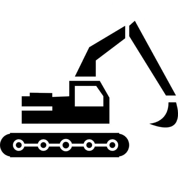 Costruzione escavatore scaricare icone gratis for Software di layout di costruzione gratuito