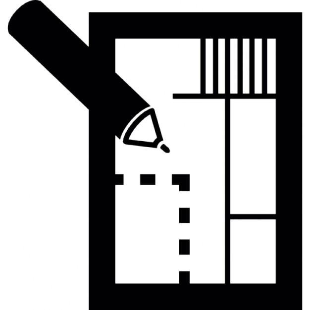 Disegno piano casa scaricare icone gratis for Layout di casa piano gratuito
