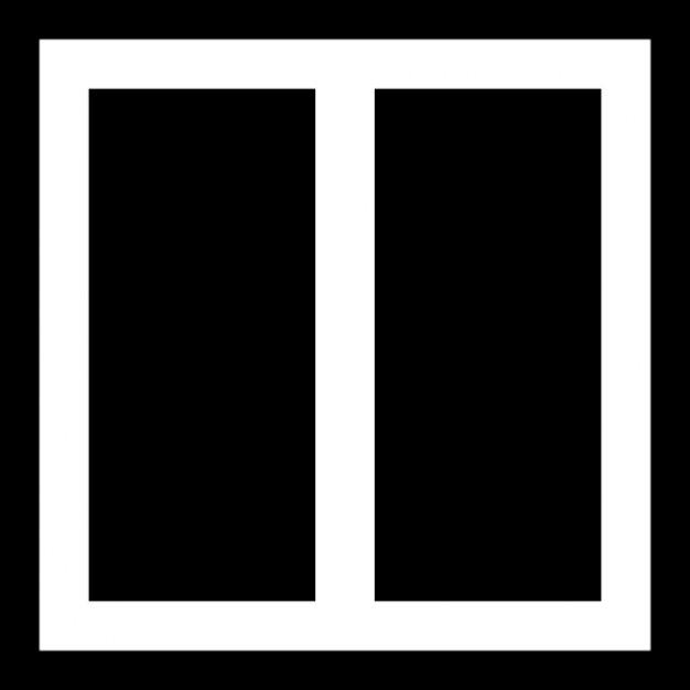 Due colonne di layout scaricare icone gratis for Costruttore di layout gratuito