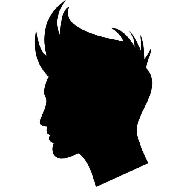 Forma capelli ragazzo scaricare icone gratis