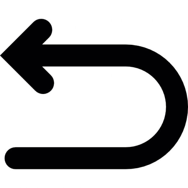 Freccia indietro, ios 7 simbolo interfaccia Icone Gratuite