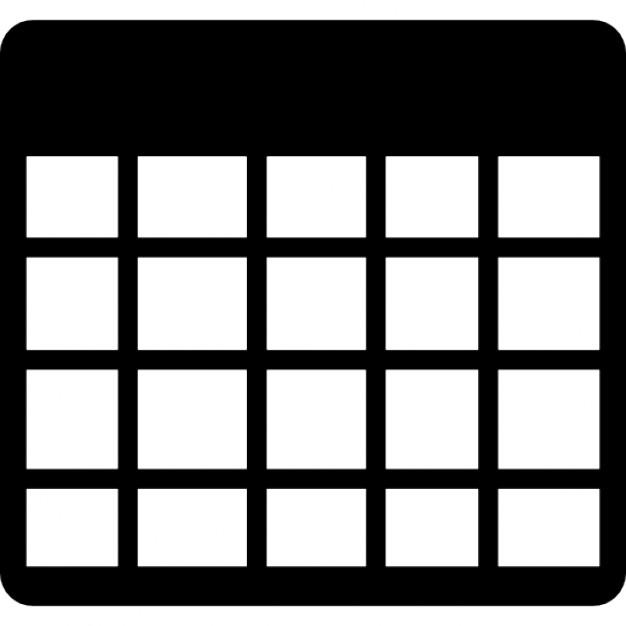 Griglia tabella vuota scaricare icone gratis - Tavola pitagorica vuota da stampare ...