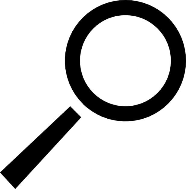 Lente di ingrandimento scaricare icone gratis - Specchio con lente di ingrandimento ...