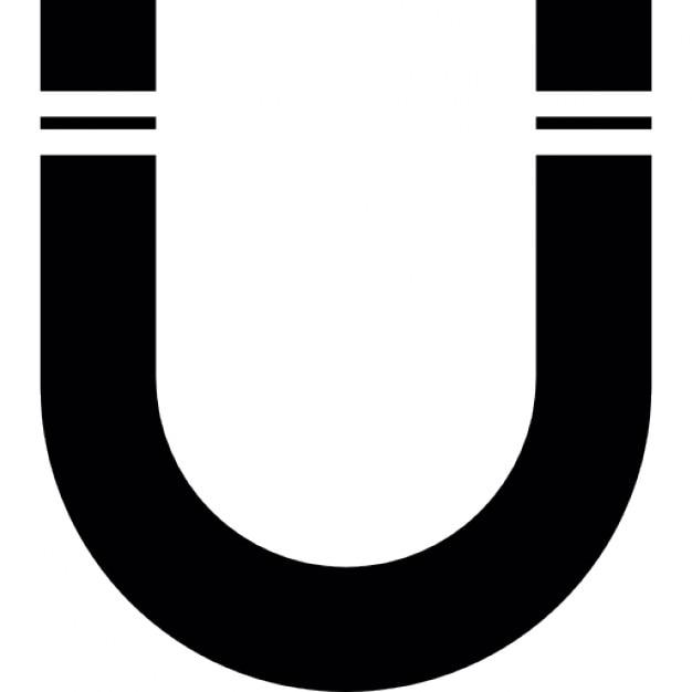 Magnete a forma di u scaricare icone gratis for Case a forma di u