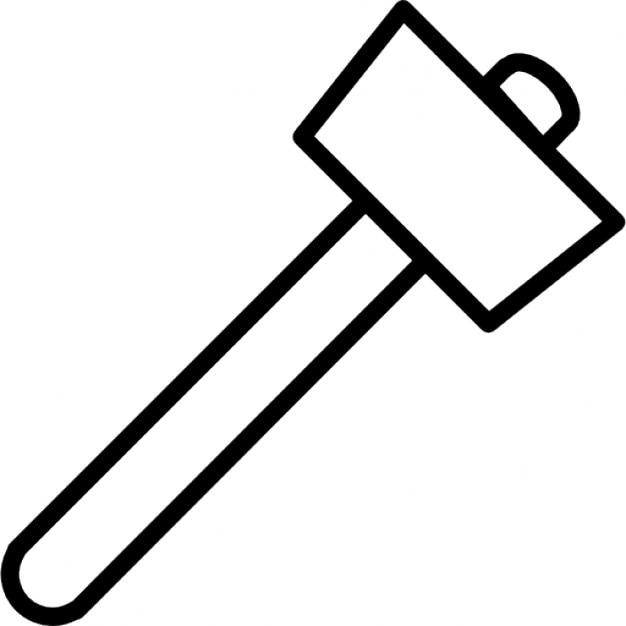 Martello contorno scaricare icone gratis - Contorno squalo martello ...
