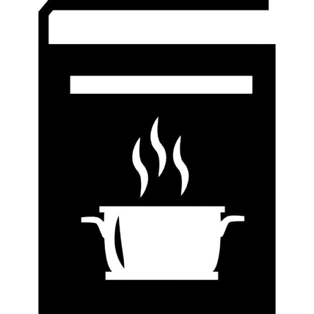 ricette di cucina calda libro icone gratuite