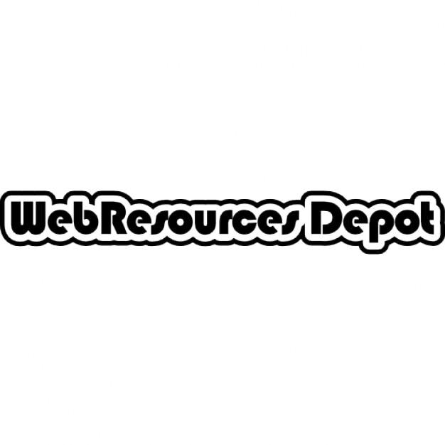 Risorse web sito web depot logo scaricare icone gratis for Logo sito web