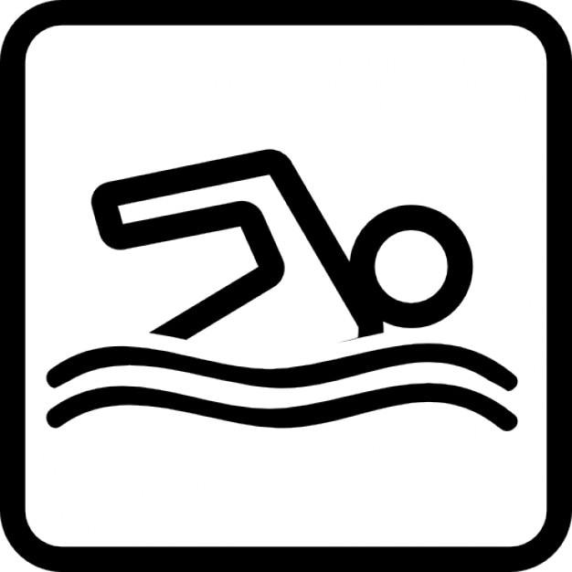 segnale piscina scaricare icone gratis