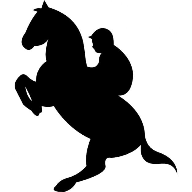 Stand up cavallo con fantino scaricare icone gratis