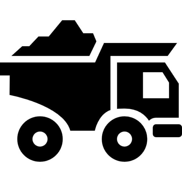 Trasporto camion con i materiali da costruzione for Materiali da costruzione che iniziano con i