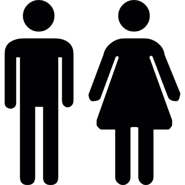 Uomo donna toilette scaricare icone gratis - Foto de toilette ...