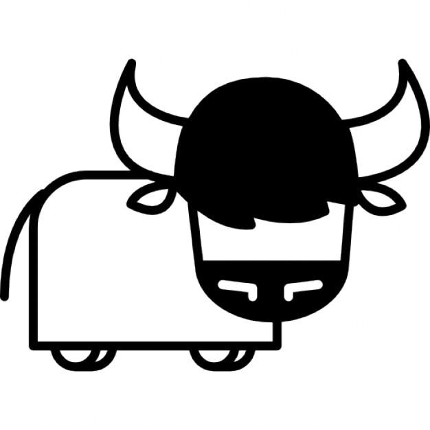 Variante toro cartone animato scaricare icone gratis