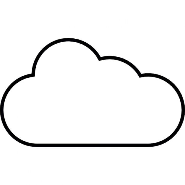 Bewolkt Weer Ios 7 Symbool Iconen Gratis Download