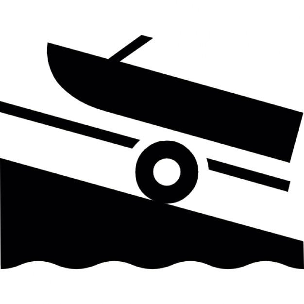 Boot op een helling iconen gratis download - Tuinmeubilair op een helling ...