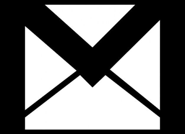 Brief envelop Gratis Icoon