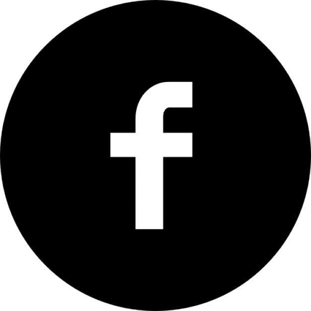 Cirkel facebook Gratis Icoon