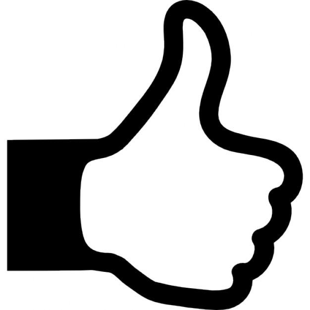 Afbeeldingsresultaat voor icon duim omhoog