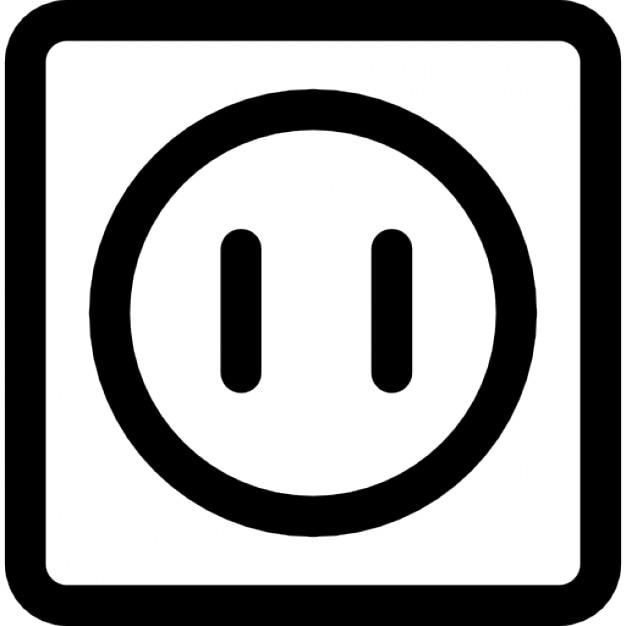 elektriciteitsaansluiting iconen gratis download. Black Bedroom Furniture Sets. Home Design Ideas