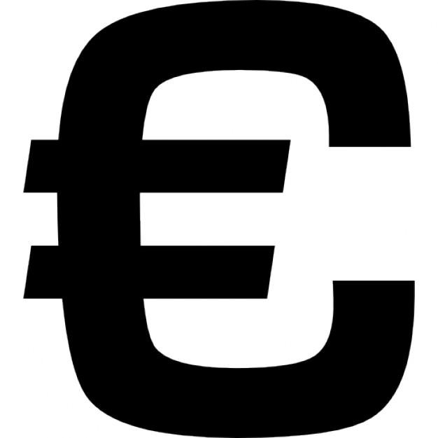 Euroteken overzicht Iconen | Gratis Download