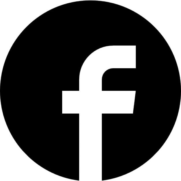Facebok cirkelvormige logo Gratis Icoon