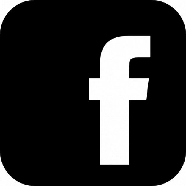 Facebook logo met afgeronde hoeken Gratis Icoon
