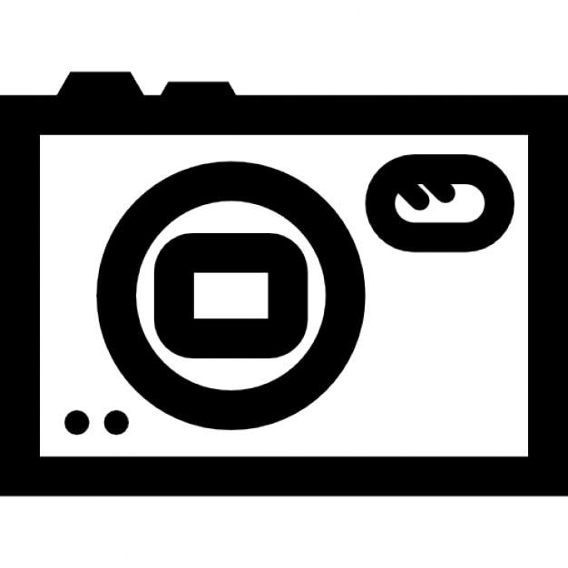 Fotocamera overzicht symbool Gratis Icoon