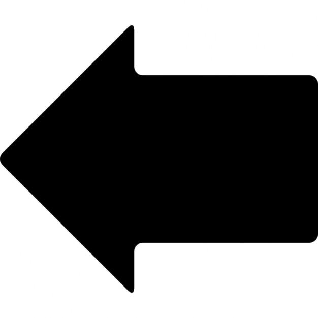 Links zwarte pijl iconen gratis download - Na de zwarte bank ...